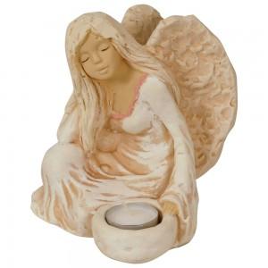 Figurka aniołka - świecznik