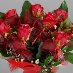 Kwitnąca różana miłość