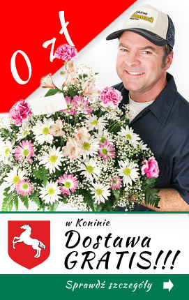 Poczta kwiatowa - darmowa dostawa