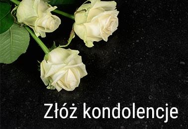 Złóż kondolencje z kwiatami