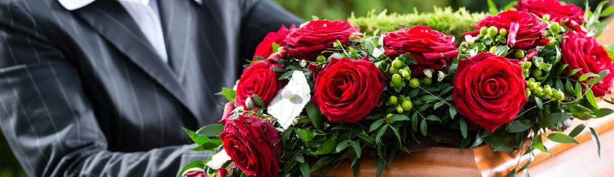 Wiązanki i wieńce pogrzebowe